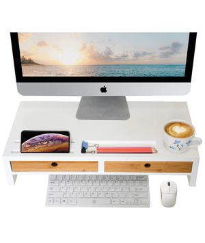 Computer Monitor Stand with Drawers for Sale in Miami, FL