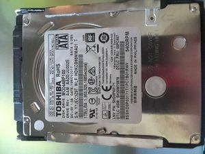 Toshiba sata 1tb laptop hd for Sale in Dallas, TX