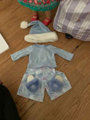American Girl Doll Snowflake pjs for Sale in Haines City, FL