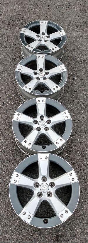 "18"" Lexus F Sport wheels rims rare JDM set for Sale in Boca Raton, FL"