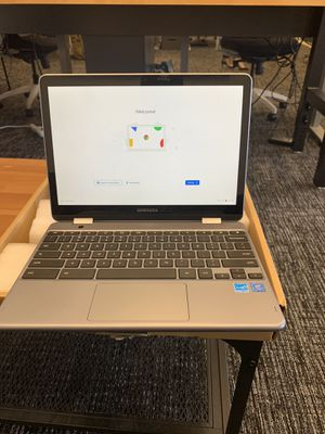 Samsung Chromebook PLUS with pen in box for Sale in Irvine, CA