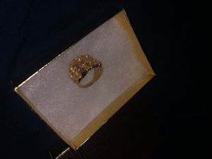 10 k nugget ring solid gold for Sale in Hawthorne, CA