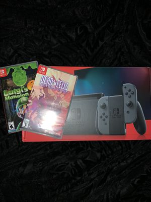 Nintendo Switch + Games for Sale in Grand Prairie, TX
