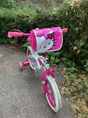Girls Hello Kitty bike 14 inches for Sale in Tacoma, WA