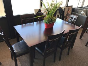 7-pcs dining table on sale @ elegant furniture 🛋🎈 for Sale in Fresno, CA