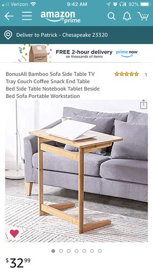 TV stand side table for Sale in Chesapeake, VA
