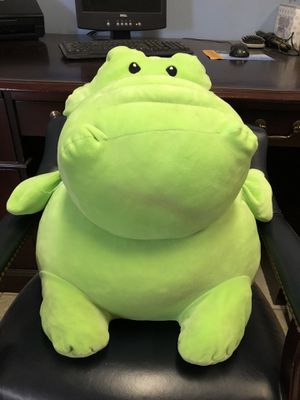 """Large Stuffed animal hippo - About 19"""" tall for Sale in Griswold, CT"""