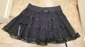 Vintage Lip Service Gothic Tiered Corset, Lace, & Bow Mini Skirt for Sale in Ventura, CA