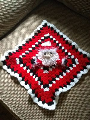 Crocheted Handmade Santa Baby Lovey for Sale in Petersburg, VA