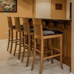 Set Of 4 Sturdy Bar Stools for Sale in Wheaton, IL