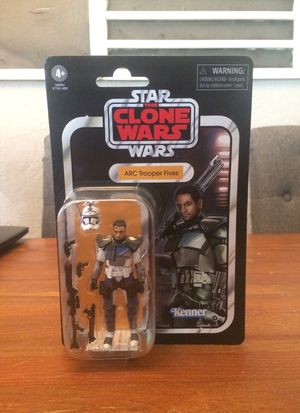 Star Wars The Vintage Collection The Clone Wars ARC Trooper Fives action figure new for Sale in Puyallup, WA