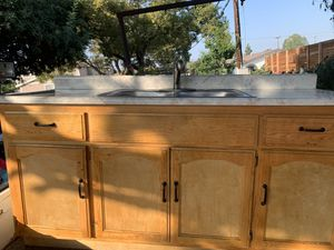 Brand new kitchen sink 6 feet long 3 feet high and 2 feet width for Sale in Los Alamitos, CA