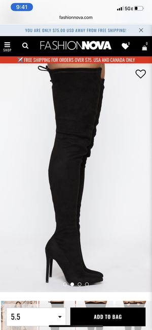 Thigh high boots for Sale in Manchaca, TX