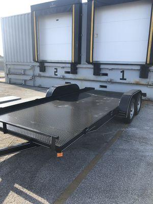 Car trailer car hauler transport car dolly trailers equipment trailers dump trailer for Sale in Hialeah, FL