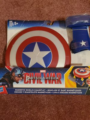 Captain America manet shield gauntlet for Sale in Minneapolis, MN