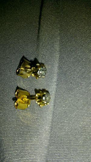 Diamond chip stud earrings for Sale in Denver, CO