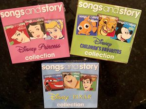 Disney Song & Story 3-CD sets for Sale in Clarence, NY