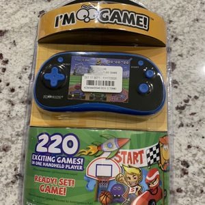 New IM-Game Handheld Game Player, 220 Games with 3 inch Color Display, Retro Game Console, Portable for Sale in Las Vegas, NV