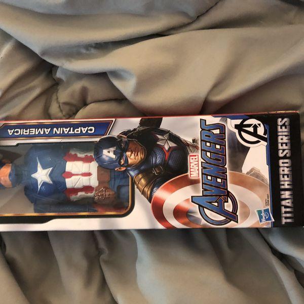 Captain America Doll