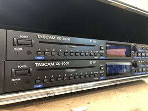 TASCAM CD-500B disk and Audio player for Sale in Poway, CA