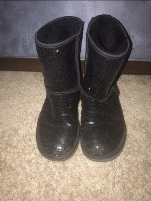 Black Sequin Ugg Boots (10) for Sale in Sykesville, MD