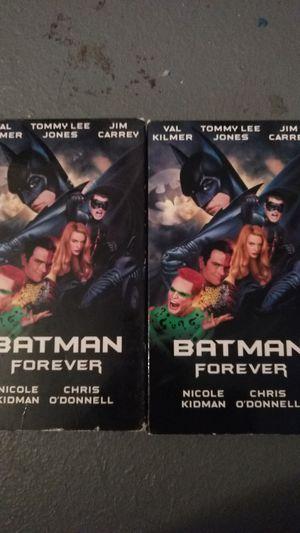 Batman forever vhs tapes for Sale in Missoula, MT