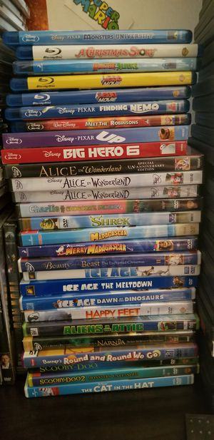 Disney Movie Blu ray and Others for Sale in Alexandria, VA