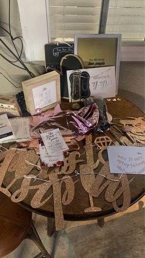 Bridal shower supplies for Sale in Norwalk, CA