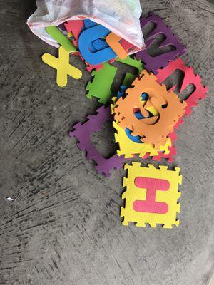 ABC puzzle mat for Sale in Aldie, VA