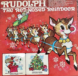 "Various Artists ""Rudolph The Rednosed Reindeer"" Vinyl Album $10 for Sale in Ringgold, GA"