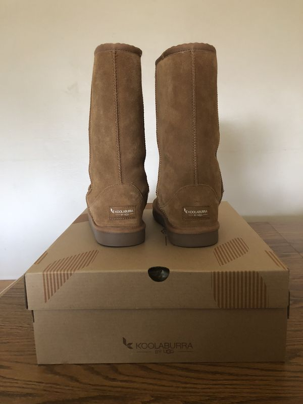 Koolaburra by UGG Koola Tall Girls' Winter Boots - Chestnut