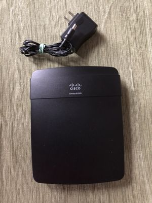 CISCO LinkSys Wireless Router Model # E1200 for Sale in Boston, MA