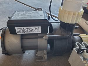 Jacuzzi hot tub pump for Sale in Las Vegas, NV