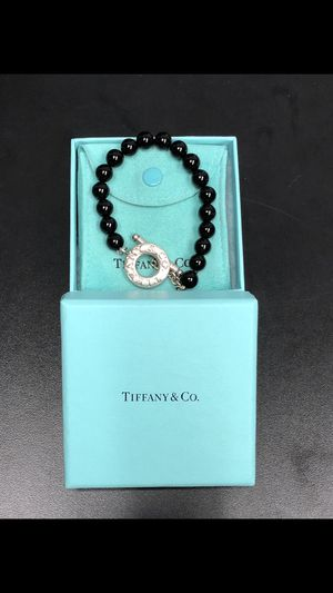 Tiffany & Co. Onyx Bracelet and Accessories for Sale in Belle Isle, FL