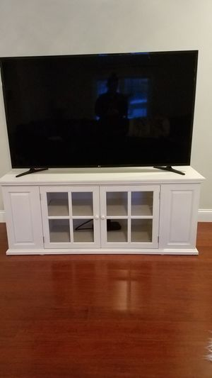 NEW Farmhouse cottage TV bookshelf stand for Sale in Fitchburg, MA