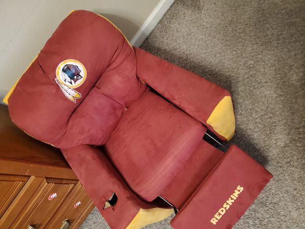 Redskins kids chair
