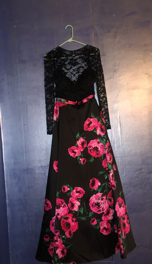 Long sleeve prom dress for Sale in Waterford, PA