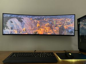 """Samsung CHG90 Series 49"""" HDR QLED Curved Monitor for Sale in Riverview, FL"""