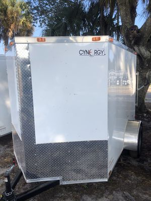 Enclosed trailer 6x8SA Basic series brothers trailers for Sale in Tampa, FL