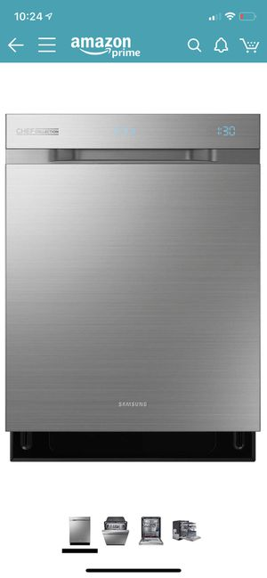 "Samsung DW80H9970US Chef Collection 24"" Stainless Steel Fully Integrated Dishwasher ,new, we deliver for Sale in Lexington, KY"