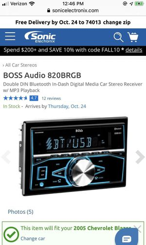 Boss Car Stereo for Sale in Poteau, OK