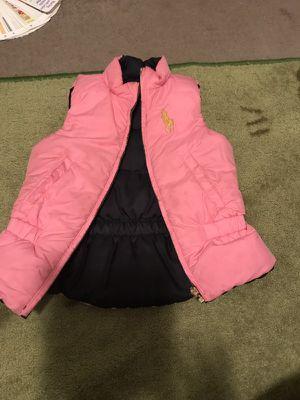 Ralph Lauren Polo reversible puffer vest sz 6 for Sale in Washington, DC