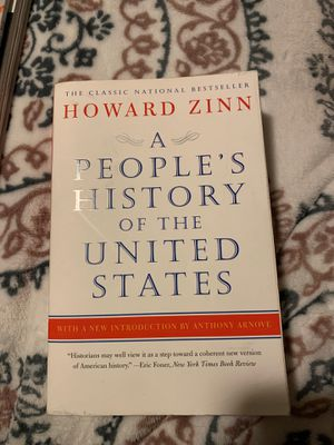 A people's history of the United States, by Howard Zinn for Sale in Auburn, WA