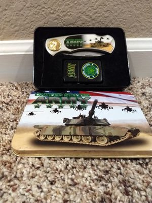 Army knife/Zippo collectors set for Sale in Salida, CA