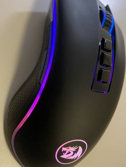 Redragon M711 COBRA Gaming Mouse with 16.8 Million RGB Color Backlit, 10,000 DPI Adjustable, Comfortable Grip, 7 Programmable Buttons for Sale in Joint Base Andrews,  MD