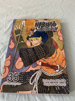 Naruto Shippuden dvd set 35 for Sale in New York, NY