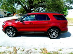 2017 Ford Explorer Leather Sunroof TV for Sale in Fort Lauderdale, FL