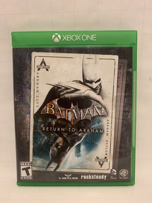 Batman return to Arkham , Arkham city and Arkham asylum for Sale in Riverside, CA