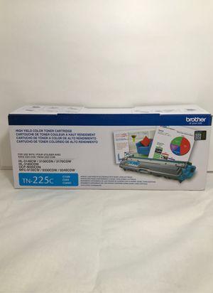 Brother OEM TN-225c Cyan Toner Cartridge Open Box Sealed Toner for Sale in Santa Ana, CA