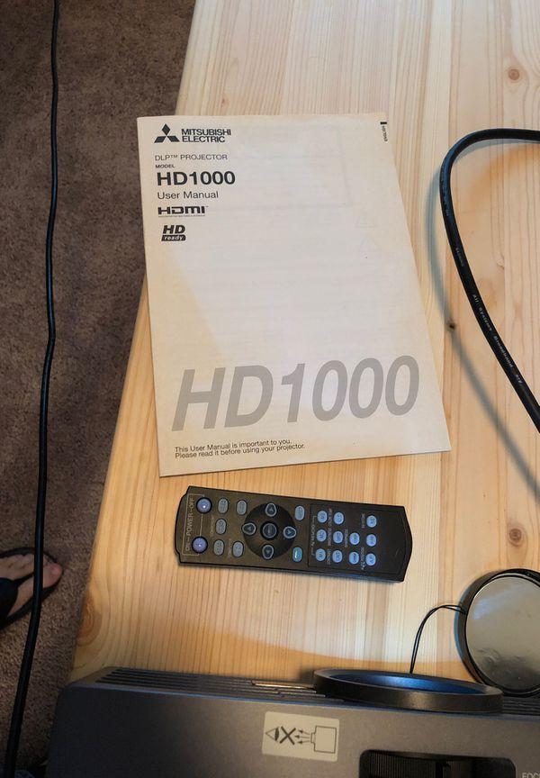 Mitsubishi HD1000 DLP Projector
